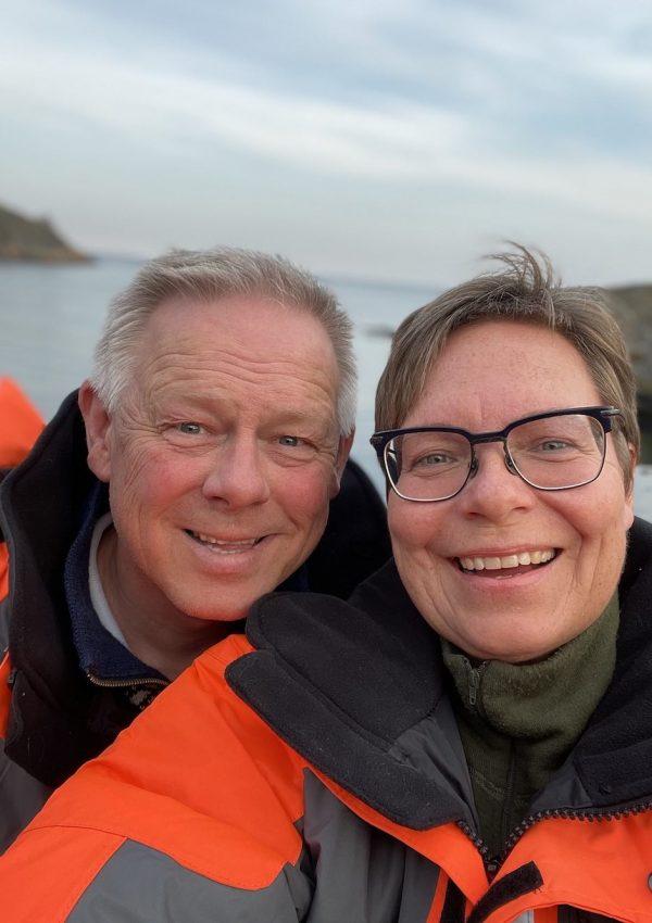 Maren Brinch og Otto Gundersen, Sandaa Hytteutleie, Tromøy, Arendal, Sørlandet